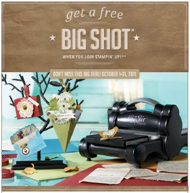 Free Big Shot with Starter Kit