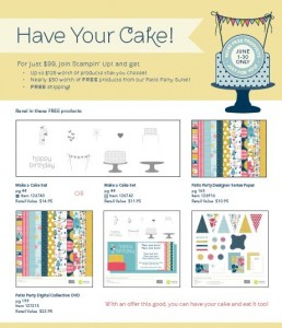Free Stampin' Up! Patio Party Suite