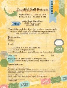 Fanciful Fall Retreat Registration Form
