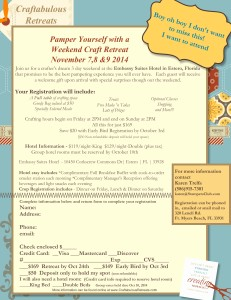 Fall 2014 Florida Weekend Scrapbook Retreat Registration