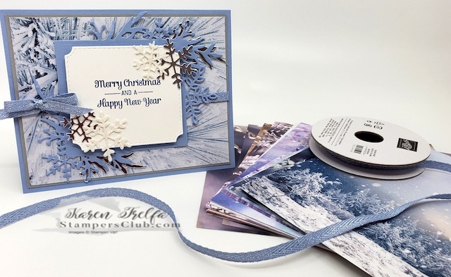 It's Feeling Like a Frosted Time in Card Making