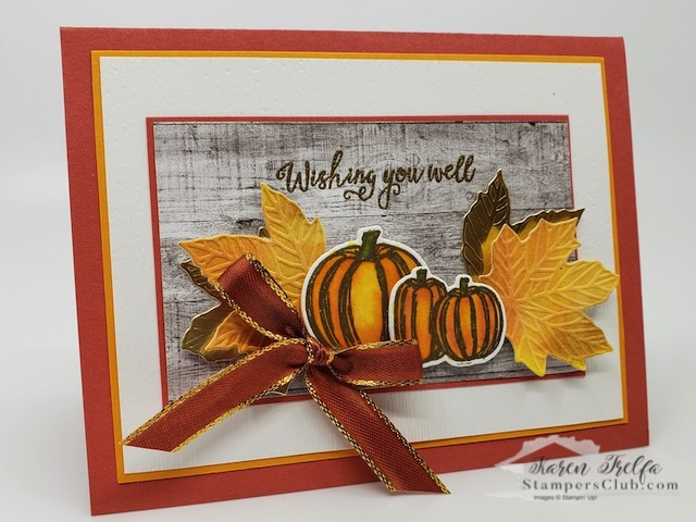 Let's Gather Together with a bit of Fall!